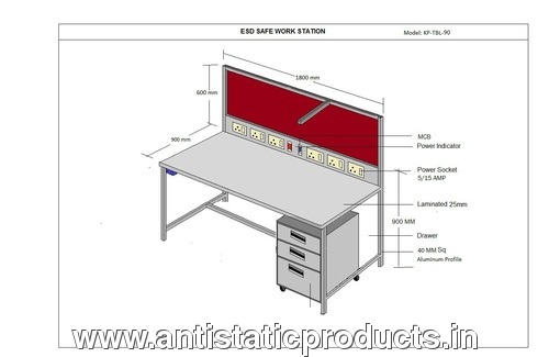 ESD Work Station Drawing