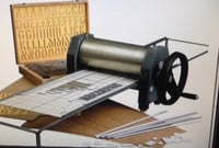 Industrial Stencil Machine
