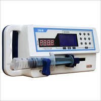 Front Loading Syringe Infusion Pump