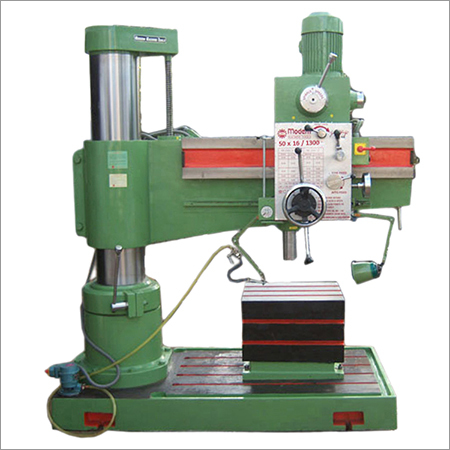 50 MM Radial Drill Machine