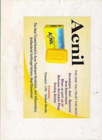 Acnil pimple care soap