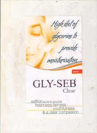Glyseb Clear Soap