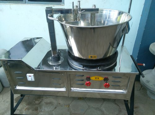 Single Phase Halwa Making Machine
