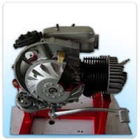 Cut Sectional Model of Two Stroke Single Cylinder Petrol Engine