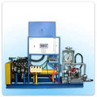 Single Cylinder Two Stroke Petrol Engine Test Rig with Rope Brake Dynamometer