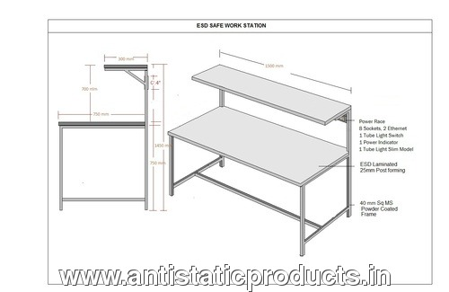 Basic ESD Work Table Drawing