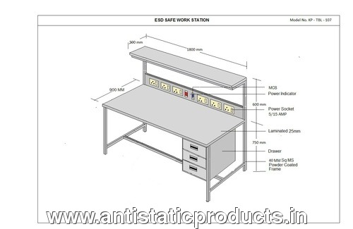 Basic ESD Working Table