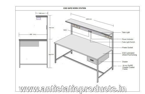 ESD Safe Working Bench