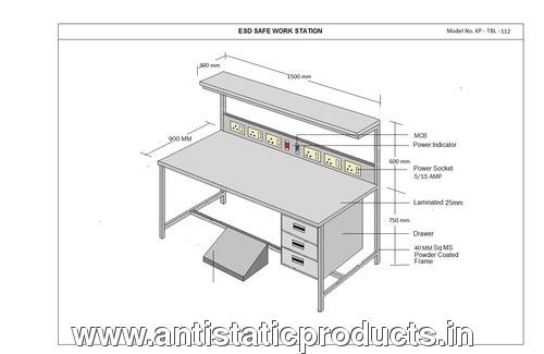 Comfortable ESD Workstation