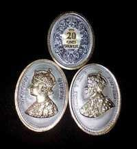 20 Gms Oval Shape Silver Coin