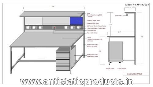 Safe Professional ESD Workstation