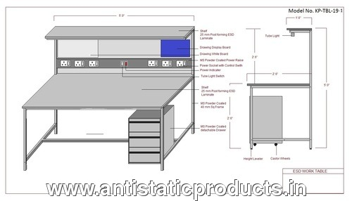 Safe Professional ESD Workstation