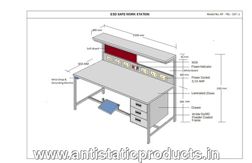 Customized Safe ESD Workstation