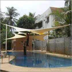 Swimming Pool Tensile Shade