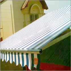 Collapsible Motorized Awning