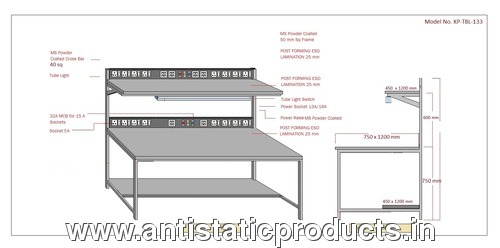 Professional Made ESD Workstation