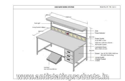 KP ESD workstation