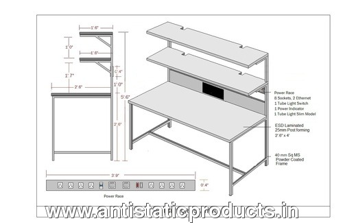 Professional Working ESD Workstation