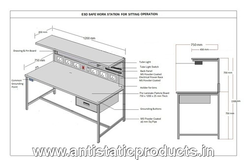 Industrial ESD Work Bench