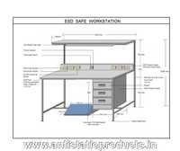 Safe Industrial ESD Work Station