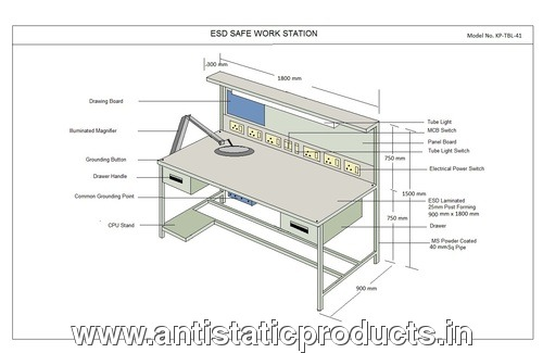 Safe ESD Workbench Manufacturer