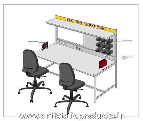 Professional ESD Safe Workstation