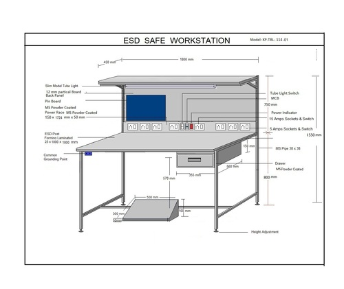 Safe & Simple ESD Workstation