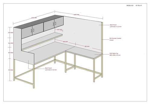 Customized Safe ESD Workstations