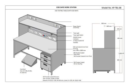Safe  ESD Workstation