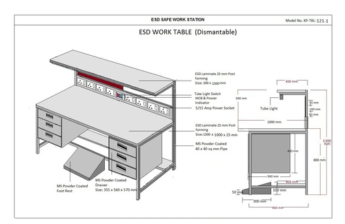 ESD Work Station Manufacturer