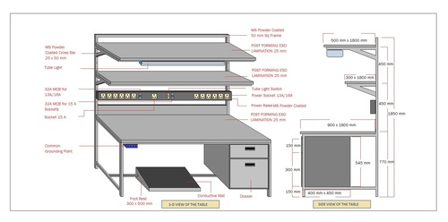 Superior Quality ESD Work Station