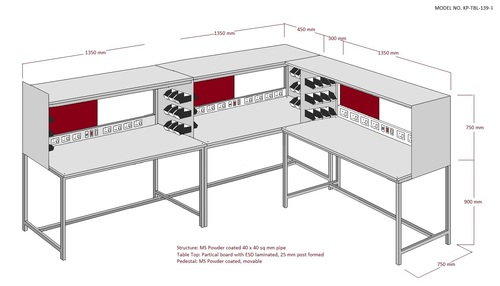 Professional Safe ESD Workstation Manufacturer