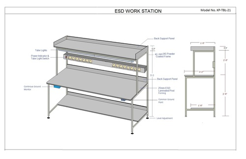 Best Quality SAFE ESD Workstation