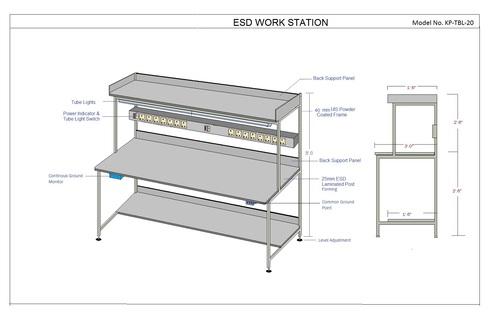 Basic & Simple SAFE ESD workstation