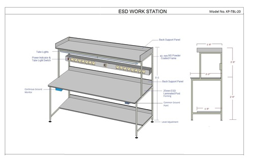 Basic & Simple Safe ESD Workstation