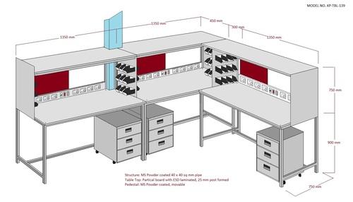 Industrial SAFE ESD Workstation