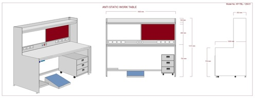 Quality & SAFE ESD Workstation