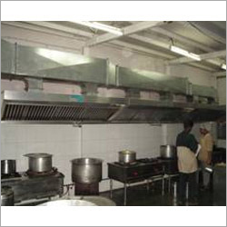 Kitchen Air Ventilation System
