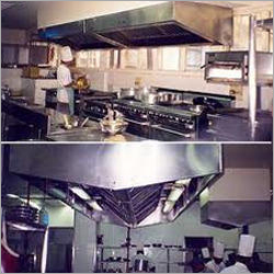 L Shape Kitchen Hood