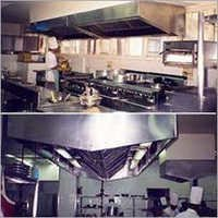 L Shaped Kitchen Hood