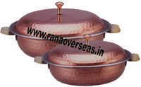 Steel Copper Hammered  Donga