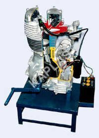 Motor Car Engine Petrol : Handle Driven