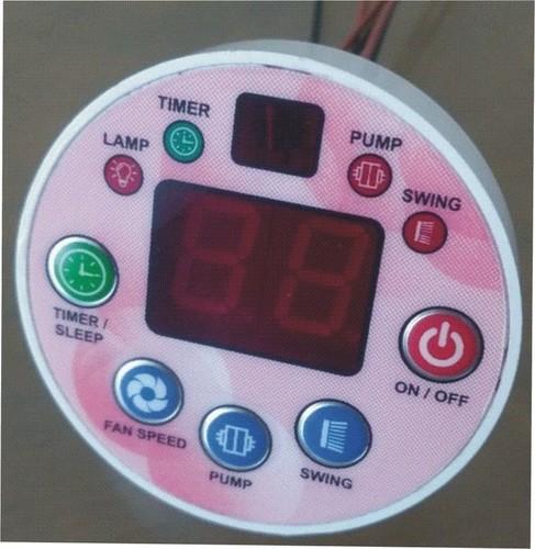 REMOTE CONTROL FOR PLASTIC AIR COOLER