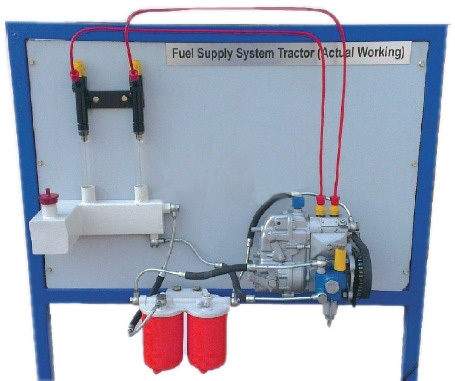 Fuel Supply System of a 4 Cylinder Diesel Engine: