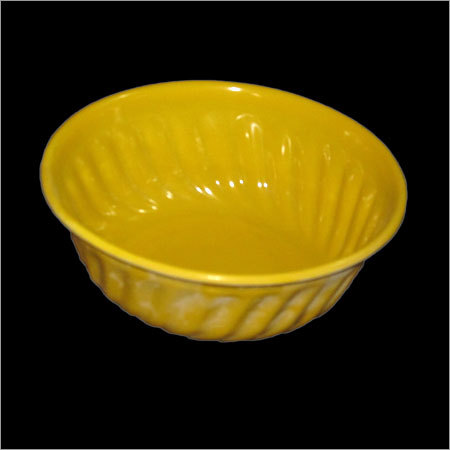Yellow Melamine Bowl