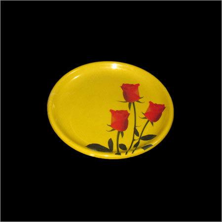 Yellow Melamine Plates