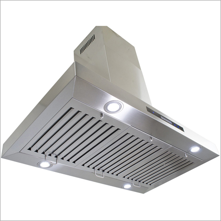 Roof Exhaust Hood with AIr Frsher