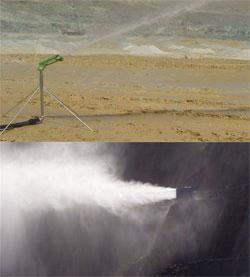 Dust Supression above ground mining & blasting