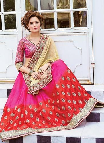 Chiffon Heavy Designer Saree