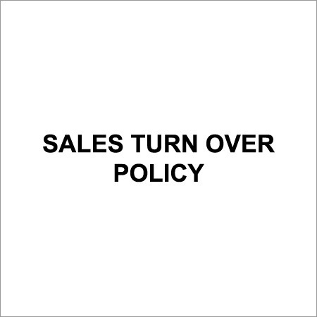 Sales Turnover Policy